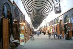 Syria Damascus - Souq Midhat Basha one of the oldest Mall in History