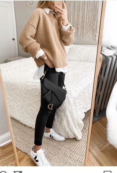 Trendy Fall Outfits, Winter Fashion Outfits, Fall Winter Outfits, Cute Casual Outfits, Look Fashion, Stylish Outfits, Retro Fashion, Autumn Fashion, Fashion 2020