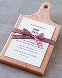 (2-4).. A nice way to place your menu and favors for guests into 1