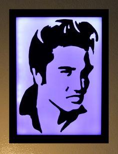 Elvis Presley Led light box