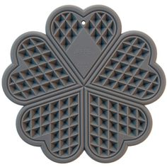 For hot pots and pans, silicon in the shape of a norwegian waffle - Bark Bazar Norwegian Waffles, Must Have Gadgets, Waffle Iron, Kitchen Supplies, Form, A Table, Pot Holders, Rust, Kitchen Appliances