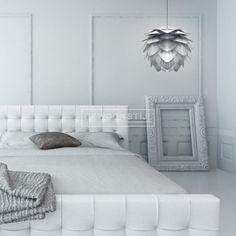Silvia hanglamp silver zilver #verlichting #Vita #Silvia | www.gewoonstijl.nl