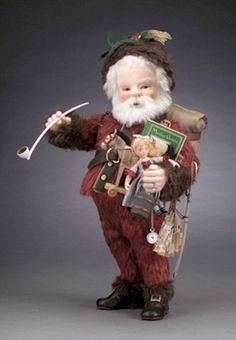 """R John Wright's """"Thomas Nast Santa""""   eBay"""