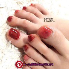Pedicure ideas red toenails simple 29 Ideas for 2019 Feet Nails, Aycrlic Nails, Nail Manicure, Swag Nails, Feet Nail Design, Toe Nail Designs, Red Toenails, Summer Toe Nails, Valentine Nail Art