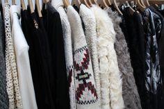 winter closet
