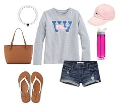 """Pot Savanah all alone in gym today!!!"" by livimay ❤ liked on Polyvore featuring moda, Vineyard Vines, American Eagle Outfitters, Abercrombie & Fitch, CamelBak y Tory Burch"