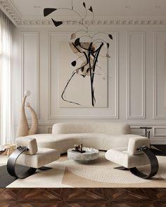 Living Room Interior, Home Living Room, Home Interior Design, Living Room Decor, Classical Interior Design, Interior Livingroom, Interior Designing, Contemporary Interior Design, Contemporary Artwork