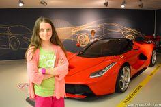 """Ferrari feast at Museo Ferrari Maranello"" by @saucepankids"