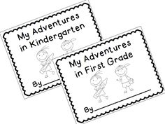 End of the Year Memory Book! Keep those school memories alive with this memory book for either KINDERGARTEN or FIRST GRADE. These fun pages are designed for your kids to complete over several days during that last weeks of school. There are a total of 11 different pages you can include in your book. $