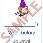 The Word Wizard Vocabulary Journal is a template to be used by your students to register and practice words. FREE