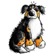 embroidery designs bernese mountain dogs | dog cartoon cute and funny bernese mountain dog t shirt design ...
