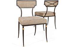 Amy D. Morris Patio Chairs, Pair on OneKingsLane.com, 6800.00 retail.