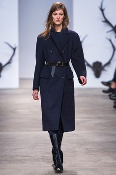 77de19ee275 Trussardi Fall 2013 Ready-to-Wear Fashion Show - Franzi Mueller. Dawn  Carroll · Women's Coats