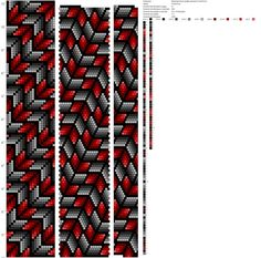Переливчатые ромбы мозаика ToskaTusk (21) http://crochetbeadpaint.info/raports/2111116