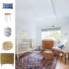 The midcentury modern nursery from last vote is up on the blog! I love how it turned out. Gorgeous.  Good choice you guys! Happy 3-day weekend! #CopyCatChic