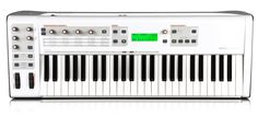 I recommend this Synthesizer/Midi Controller for your D.A.W. needs.  Here is the link to the website.  http://www.m-audio.com/products/en_us/Venom.html