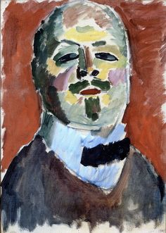 Jawlensky, Alexei (1864-1941) - 1905 Self-Portrait (Private Collection) by RasMarley, via Flickr