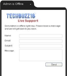 Tech Support Chat now Available ~ TechBuzz18