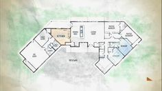 the jennie garth project floor plan I think if given the chance to build house, I would build one similar... (Bigger bedrooms... more privacy for the master... garage... etc.)