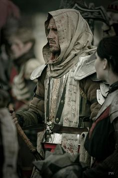 Untotes Fleish (Undead Flesh) at the ConQuest of Mythodea (source: Paddy… Larp Armor, Medieval Armor, Medieval Fantasy, Fantasy Inspiration, Character Inspiration, Conquest Of Mythodea, Character Concept, Character Design, Armor Clothing
