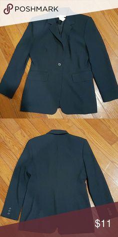 Jacket Gently used petites navy nygard Jackets & Coats Blazers