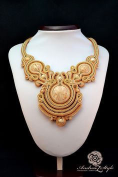 Soutache necklace  - Andrea Zelenak S0201