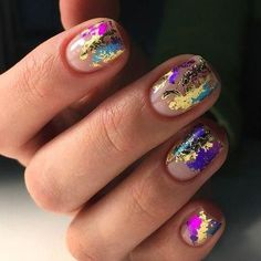 you should stay updated with latest nail art designs, nail colors, acrylic nails… – Long Showing Makeup – Eye Make Up Different Nail Designs, Best Nail Art Designs, Short Nail Designs, Foil Nail Designs, Nail Designs For Spring, Foil Nail Art, Foil Nails, Nails With Foil, Hair And Nails