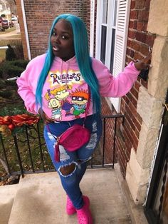 Thick Girls Outfits, Swag Outfits Men, Curvy Girl Outfits, Dope Outfits, Teen Fashion Outfits, Plus Size Outfits, Casual Outfits, Black Girl Fashion, Tomboy Fashion