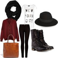 """""""Fall Outfit"""" by camee121 on Polyvore"""