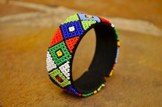 Hey, I found this really awesome Etsy listing at https://www.etsy.com/uk/listing/254461174/diamond-beaded-bangleafrican