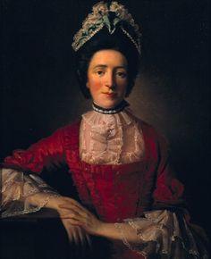 Мисс Рэмзи в красном платье, А.Рэмзи, 1760-65 г., галерея Тейт
