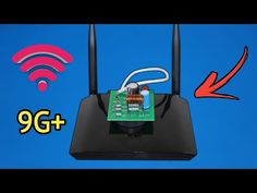 Make Free WiFi Speed Accelerator Hydrogen Production, Internet Router, Phone 7, Energy Projects, Wifi Router, Cardboard Crafts, Useful Life Hacks, Free Wifi