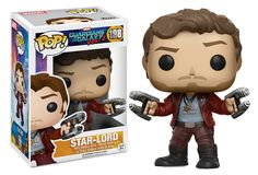 POP Guardians of the Galaxy vol. 2 Star-Lord POP Guardians of the Galaxy vol. 2 Star-Lord Star-Lord with his Element Guns From Marvel's 2017 movie Guardians of the Galaxy: Vol. 2 As portrayed by Chris Pratt Made of plastic/vinyl tall Funk Pop, Funko Pop Marvel, Marvel Pop Vinyl, Marvel Avengers, Marvel Comics, Star Lord, Pop Figurine, Figurines Funko Pop, Funko Figures