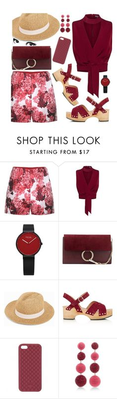 """""""Cranberry"""" by petalp ❤ liked on Polyvore featuring Moncler Gamme Rouge, Columbia, Chloé, Vero Moda, Whistles, Gucci, Rebecca de Ravenel and ootd"""