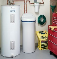 Hard water is the result of mineral and sediment deposits in the water supply. While metropolitan water systems provide basic filtration and treatment, the hardness of the water is seldom addressed. Well Water System, Water Systems, Home Water Filtration, Water Purification, Water Treatment, Water Supply, Home Repair, Plumbing, Cool Kitchens