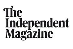 The Independent Magazine masterhead - logo Via - ZeCraft-...