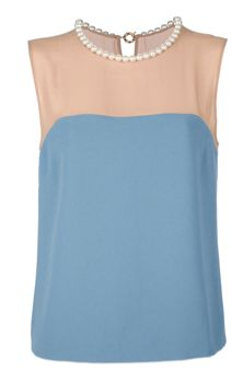Embellished top by Moschino Cheap & Chic