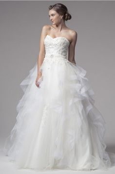 KCW1535 Tulle Ball Gown Wedding Dress by Kari Chang Eternal