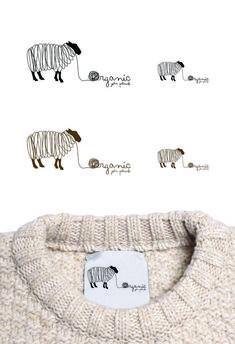 58 Trendy Ideas for knitting logo design Kids Branding, Logo Branding, Branding Design, Logo Inspiration, Logo Atelier, Sheep Logo, Logos, Knitting Blogs, Beginner Knitting