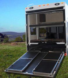 Enclosed Trailer Camper, Cargo Trailer Camper, Cargo Trailer Conversion, Trailer Build, Camper Caravan, Cargo Trailers, Camper Conversion, Truck Camper, Toy Hauler Trailers