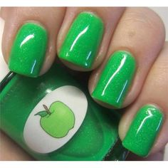 The Nail Junkie - Jelly Apple