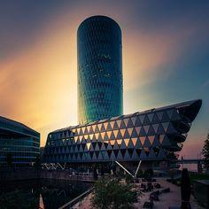 Westhafen Tower | Frankfurt am main | 05.2013 on Flickr.