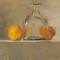 Only Oranges Left by Carol Marine (daily painting) Painting Still Life, Still Life Art, Small Paintings, Beautiful Paintings, Daily Painters, Painting Gallery, Pastel Art, Mellow Yellow, Matisse