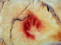 Lhomme préhistorique a laissé sa trace dans la grotte Chauvet. | © DRAC RHÔNE-ALPES - MINISTÈRE DE LA CULTURE ET DE LA COMMUNICATION