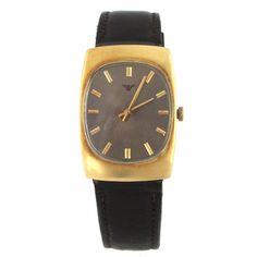 14k gold chalet watch diamond dial diamond vintage watches 18k gold wittnauer wrist watch w grey dial sciox Choice Image