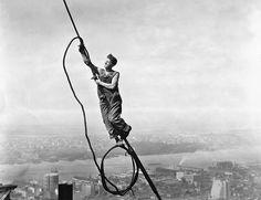 Empire State builder, circa 1931