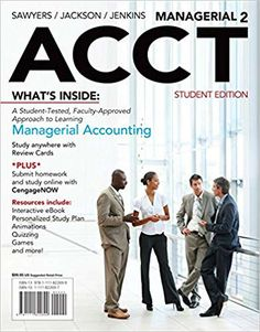 Managerial accounting 10th canadian edition test bank by garrison solution manual for managerial acct2 2nd edition by sawyers jackson and jenkins fandeluxe Gallery