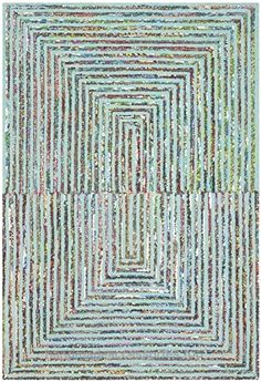 Safavieh Nantucket Collection NAN603A Handmade Abstract Teal Cotton Area Rug (3′ x 5′)  Check It Out Now     $66.00    The textural mastery of New England's fiber artists is on full display in the brilliant colors and impeccable constru ..  http://www.handmadeaccessories.top/2017/03/25/safavieh-nantucket-collection-nan603a-handmade-abstract-teal-cotton-area-rug-3-x-5/