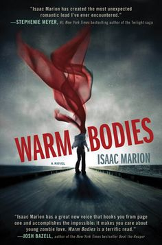 """Warm Bodies is a novel by author Isaac Marion. The book was described as a """"zombie romance"""" by the Seattle Post Intelligencer and makes allusions to William Shakespeare's Romeo and Juliet. The Body Book, This Is A Book, Up Book, Love Book, Book Nerd, Warm Bodies, The Walking Dead, I Zombie, Zombie Apocalypse"""