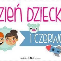 Logopedyczne gry, ćwiczenia z języka, karty do wydrukowania. - Printoteka.pl Child Day, Motto, Family Guy, Education, Children, School, Funny, Poster, Fictional Characters